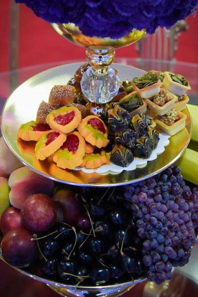 منو غذایی تالار اصفهان